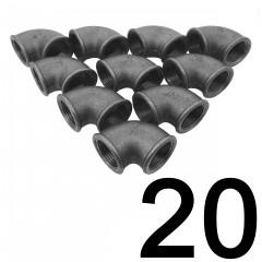 20DB KÖNYÖK 90 FOKOS  3/4 COL NATÚR ECO